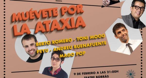 Gala benéfica 'Muévete por la Ataxia' con Buenafuente y Berto Romero en Barcelona